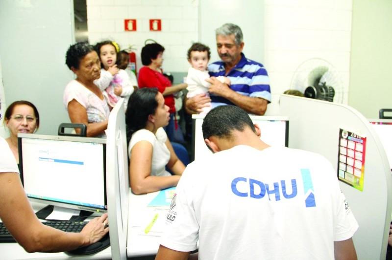 Foto ilustrativa de Mutirão de Negociação da CDHU