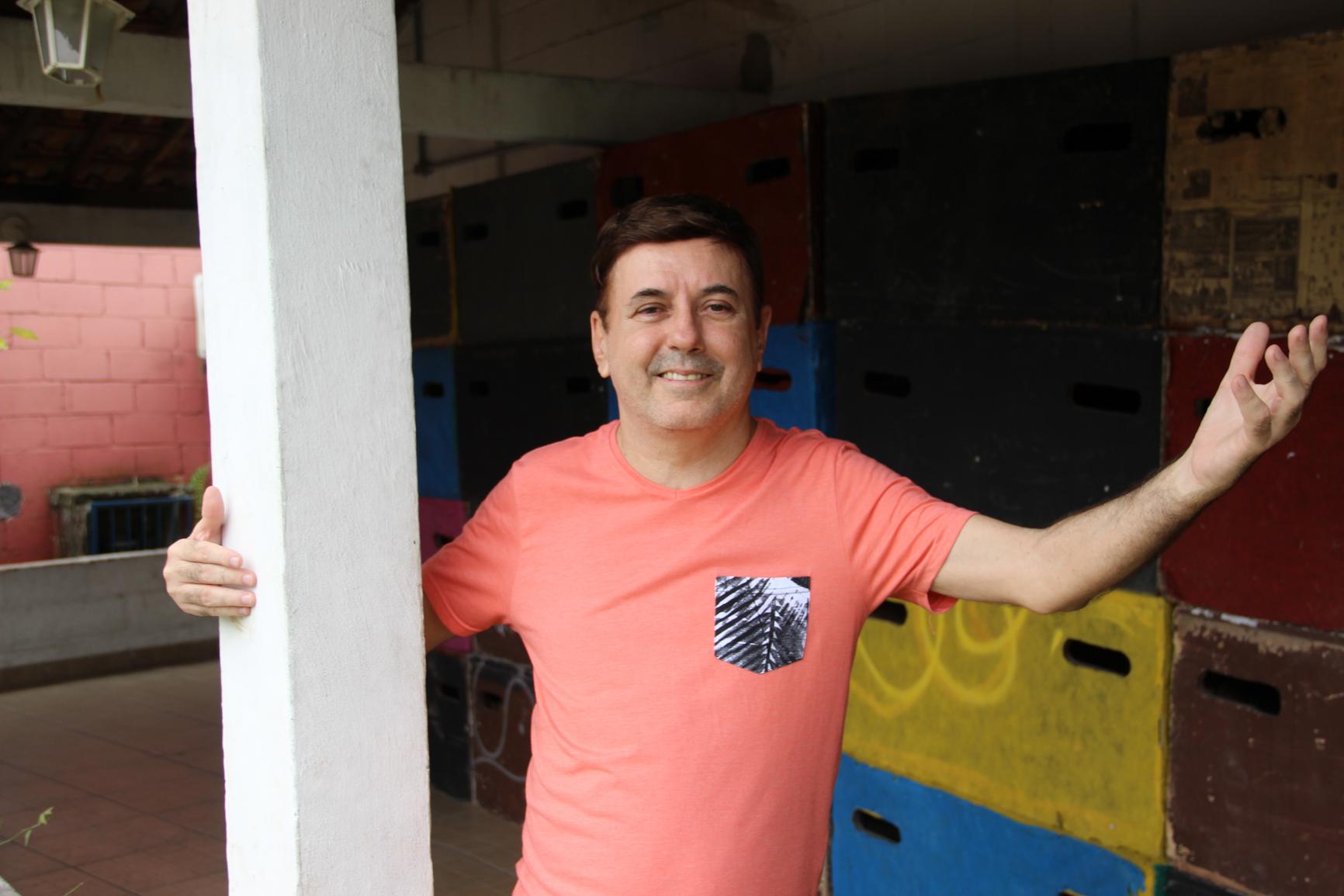 O ator e diretor teatral Lourimar Vieira acredita que essa nova lei é uma porta importante para o Teatro Municipal.